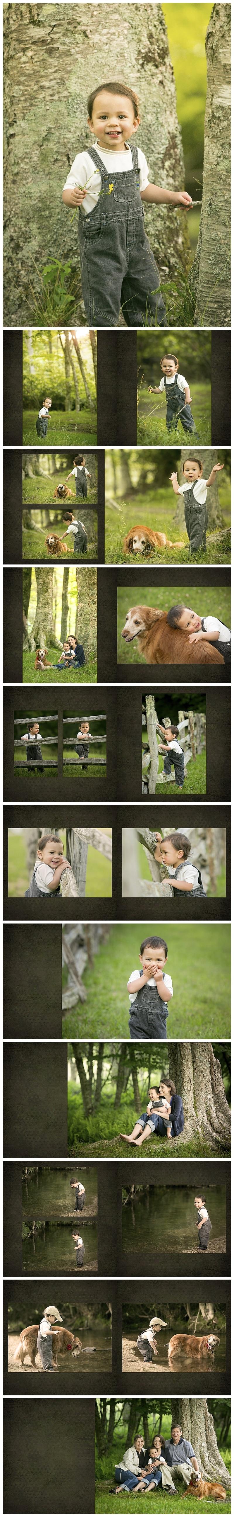 Family Portrait, Blowing Rock, NC - Burton Photography